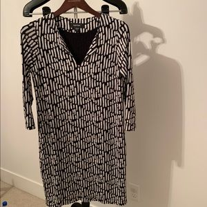Karen Kane • black and White Print Dress • Small